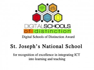 St Josephs Nation School gets Digital School of Distinction Award